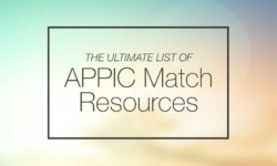 The Ultimate List of APPIC Match Resources
