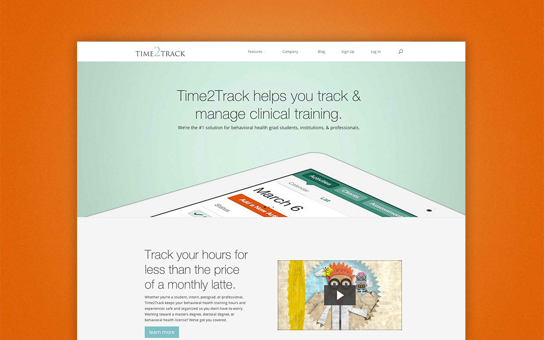 Time2Track.com has a New Look!