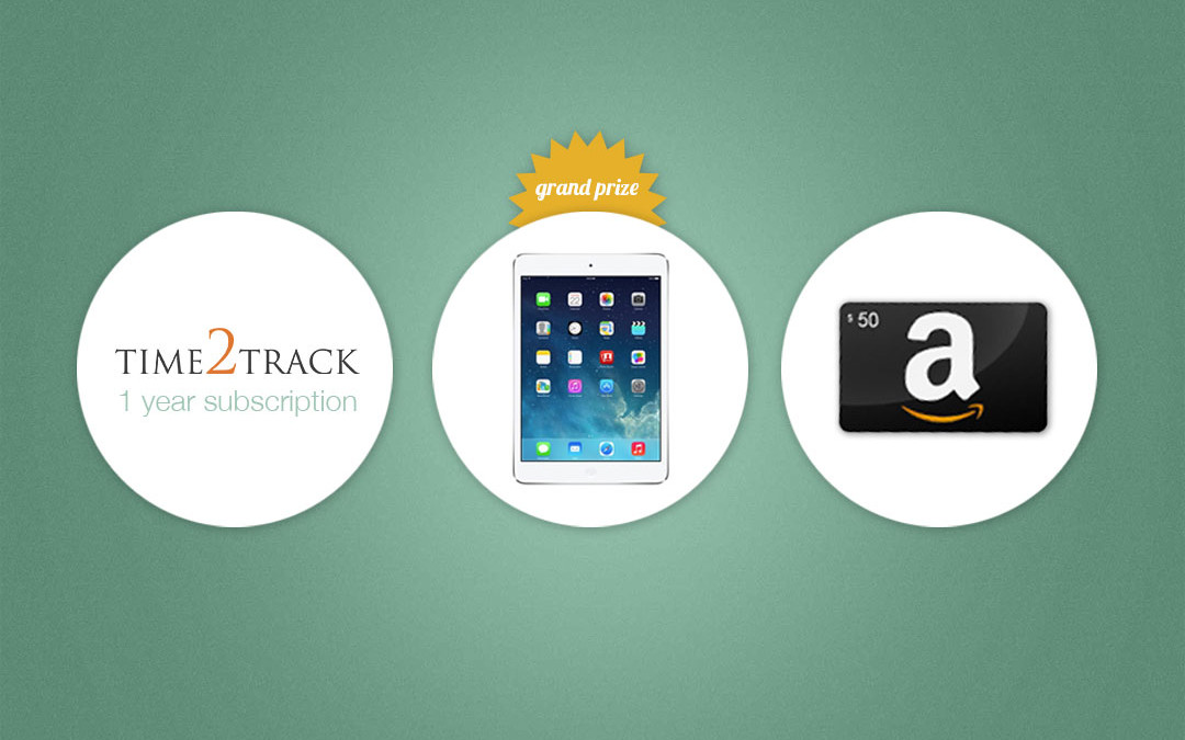 Time2Track's 2014 Giveaway Winners Announced!